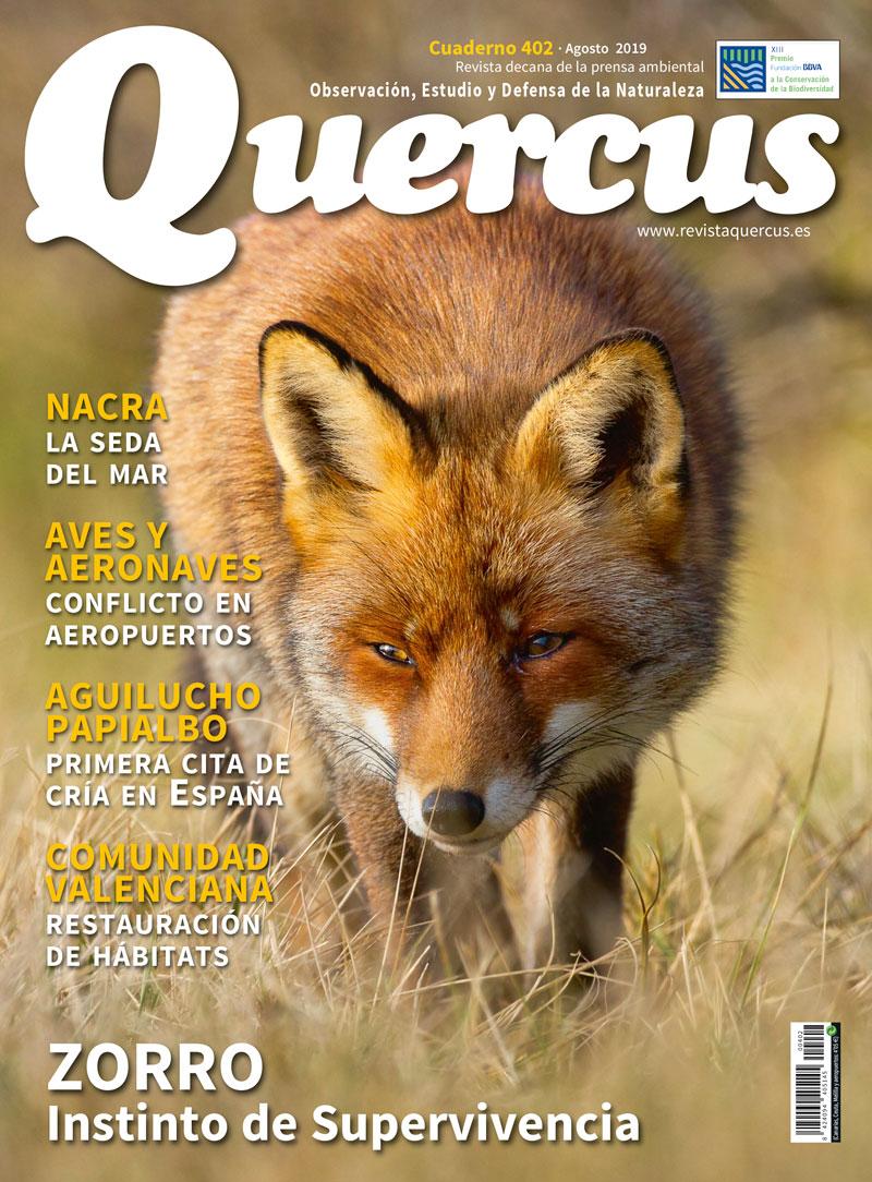 Sumario Quercus nº 402 / Agosto 2019
