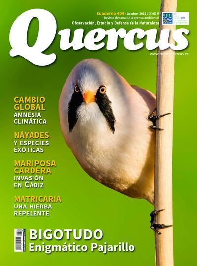 Sumario Quercus nº 404 / Octubre 2019