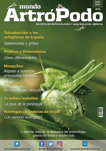 Portada del número 6, el más reciente, de la revista Mundo ArtróPodo.