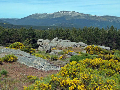 Panorámica de la sierra de Guadarrama (foto: Ziegler175 / Wikicommons).