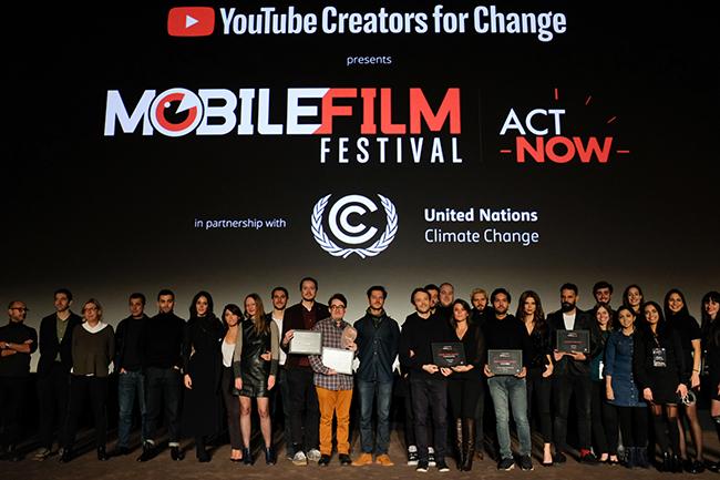 Un móvil, un minuto, una película