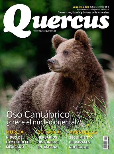 Sumario Quercus nº 408 / Febrero 2020