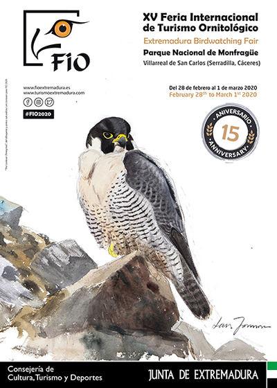 28 de febrero - 1 de marzo: Gran cita en Monfragüe para amantes de la naturaleza y observadores de aves