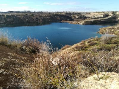 Aspecto actual de la laguna de Ambroz, situada en el área metropolitana de Madrid (foto: José Antonio Montero).