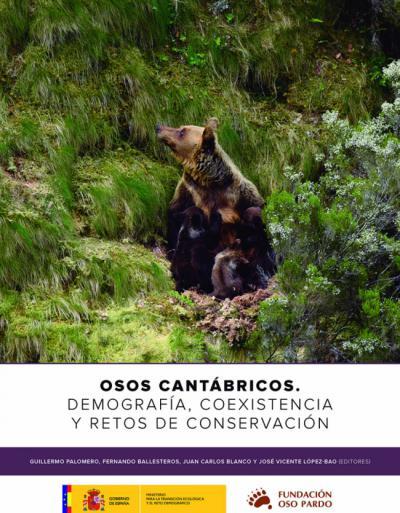Lo más actual sobre el oso cantábrico, en un nuevo libro de descarga gratuita
