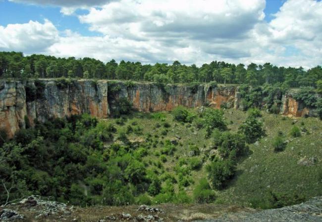 Vista del monte de Los Palancares, en la provincia de Cuenca (foto FSC).
