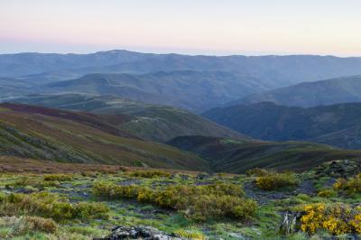 En los cordales de este sector de Cabrera está previsto instalar parques eólicos (foto: Moisés Pastor).