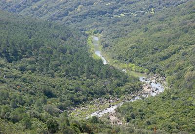 Río Hozgarganta, en Jimena de la Frontera (Cádiz). Este cauce ha sido uno de los estudiados por el proyecto Q-Clima II (foto: Tony Herrera).