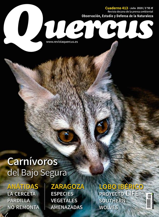 Sumario Quercus nº 413 / Julio 2020