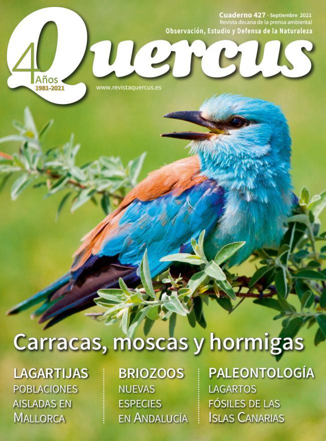 Sumario Quercus nº 427 / Septiembre 2021