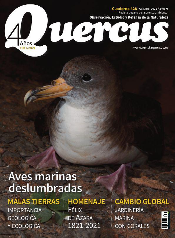 Sumario Quercus nº 428 / Octubre 2021