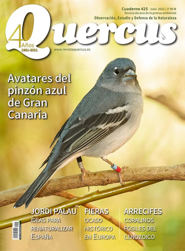 Sumario Quercus nº 425 / Julio 2021