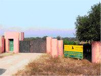 Puerta de entrada al Parque Nacional Souss Massa