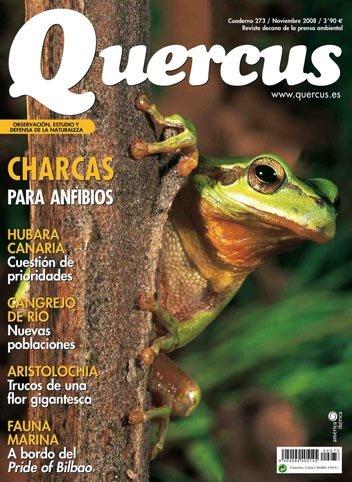 Portada Quercus nº 273 - Noviembre 2008