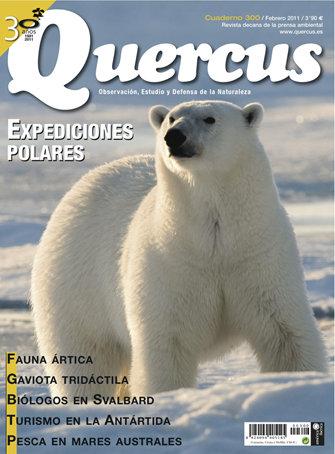 Portada Quercus nº 300 / Febrero 2011