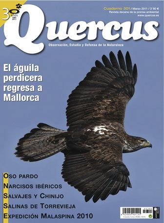 Portada Quercus nº 301 / Marzo 2011