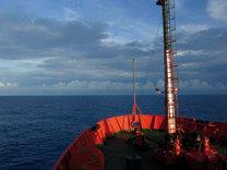21 de enero, buque Hespérides, Atlántico Sur