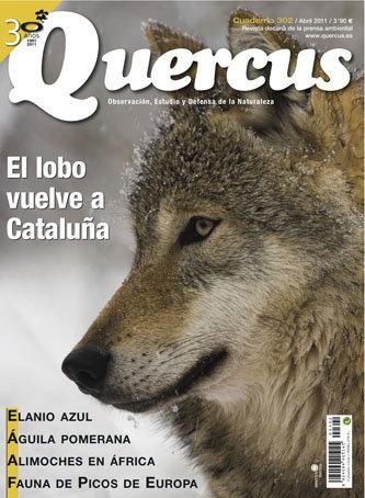 Portada Quercus nº 302 / Abril 2011