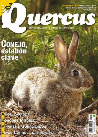 Portada Quercus nº 303 / Mayo 2011